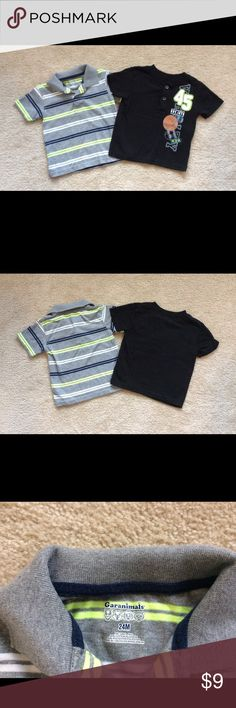 Bundle boys shirts. Bundle boys shirts lightly used. Good condition. Garanimals Shirts & Tops