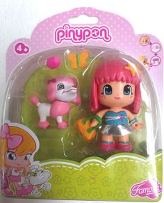 Pinypon Doll & Pet Pink with Poodle NEW FOR 2014