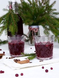 lingonberry punch