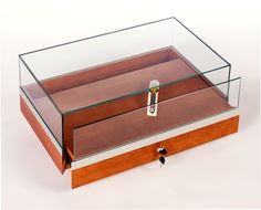GL201 Portable Jewelry Countertop Display Case