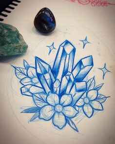 1000+ ideas about Crystal Tattoo on Pinterest | Pretty tattoos ...