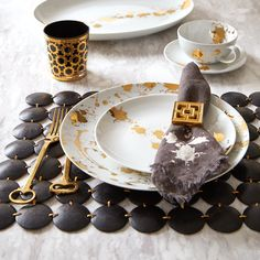 Lovin' these placemats. Awesome on a reclaimed wood table..  Coco Placemat