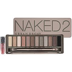 Urban Decay Naked2 Palette The follow up to the original bestselling Naked palette, this stunning second edition proves that neutral is anything but boring. Showcasing a dozen completely different shades than the first bronze-based collection, it includes a stunning range from pale and deep, to matte and sparkly.