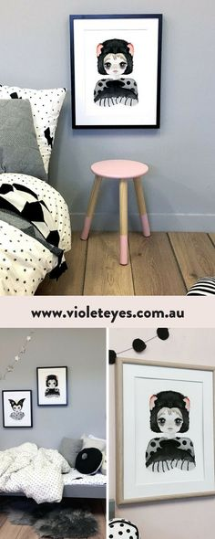 This wall artwork for kids room features the native Tasmanian devil now found only in small numbers on the island of Tasmania. SHOP https://www.violeteyes.com.au/products/tassie-devil Kids Wall Artwork Prints by Violet Eyes | Explore Kids wall artwork for boys and girls room | Artwork Decor products | Baby + children�s room | Nursery Wall Artwork Ideas