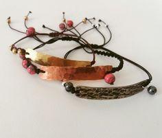 Red Gold, Handmade Jewelry, Bracelets, Silver, Leather, Fashion Trends, Instagram, Money, Bracelet