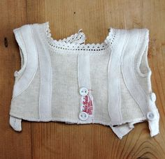 Dolls liberty bodice small size from sarah-sellers on Ruby Lane