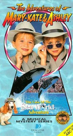 Mary-Kate and Ashley Collection: VHS ~ The Adventures of Mary-Kate and Ashley = The Case of the Sea World Adventure - 1995