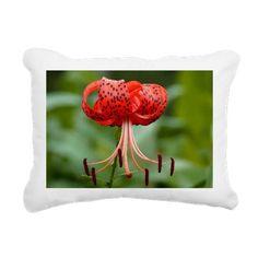 Tiger Lilly Rectangular Canvas Pillow