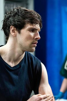 "What Merlin would look like in Footloose's ""Loaded March"" eries // Colin Morgan in The Fall Colin Bradley, Bradley James, Colin O'donoghue, Merlin Tv Series, Merlin Cast, Watson Sherlock, Sherlock John, Jim Moriarty, Hot Actors"