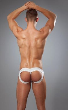 Mckillop's Butt lifters- You have the Tbar Jock with double the thickness of elastic running like an underwire continuously from one side to the other plus you have the g string bulling up your butt. You also have the Ebrief which only needs 1 thickness of underwire due to the modal lifting your cheeks, also the Ebrief create an optical illusion that your butt is smaller because one's eye is drawn to the fabric and not the 2″ of elastic (so you add the waist elastic 1.5″ + 2″ on either side…
