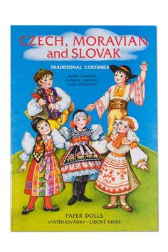 Czech, Moravian and Slovak Costumes Paper Dolls many other products to order Paper Dolls Book, Vintage Paper Dolls, Paper Toys, Paper Craft, Kids Activity Books, Book Activities, Usa Culture, History Of Paper, Vintage Playmates