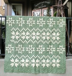 Fair Isle Quilt from Holly Hill Quilt Shoppe.  www.hollyhillquiltshoppe.com