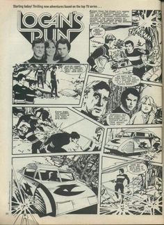 Logan's Run Comic