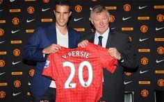 Van Persie e Sir Alex Ferguson