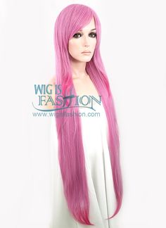 "Harajuku Neith wig 39"" Long Wavy Mixed Pink Fashion Hair Wig Fashion Synthetic Hair Wig CM050 - Wig Is Fashion"