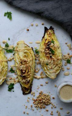 Raw Food Recipes, Veggie Recipes, Vegetarian Recipes, Healthy Recipes, Greens Recipe, Tahini Dressing, Raw Vegan, Food For Thought, Food Inspiration