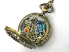 Geektastic Doctor Who-Themed Jewelry by Time Machine Jewelry
