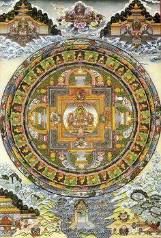 释迦摩尼佛 | Flickr - Photo Sharing! Buddhist Wisdom, Buddha Buddhism, Buddhist Art, Thangka Painting, Mandala Painting, Tantra Art, Buddhist Traditions, Wheel Of Life, Tibetan Art