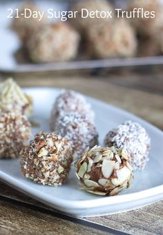 Truffles recipe inspired by The 21-Day Sugar Detox