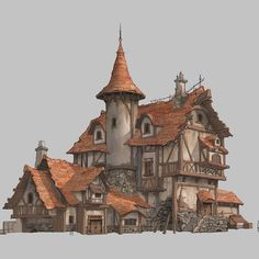 House Design by Taewon Hwang on ArtStation.