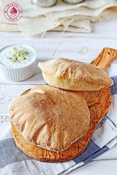 domowa pita Pitaya, Naan, Lorem Ipsum, Asian Recipes, Catering, Bread, Breakfast, Desserts, Food