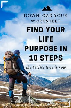 Find your life purpose in 10 steps [WORKSHEET] Download Now: https://manifestationplanner.com/how-to-find-your-life-purpose  The perfect gift for yourself to start 2016! (Over 10000 People Have Used This Worksheet Successfully)