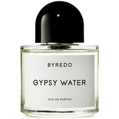 Byredo Gypsy Water Eau de Parfum found on Polyvore featuring beauty products, fragrance, beauty, makeup, perfume, parfum, filler, edp perfume, perfume fragrance and aromatics perfume