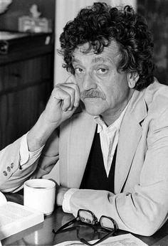 Kurt Vonnegut by Marty Reichenthal (New York, 1979)