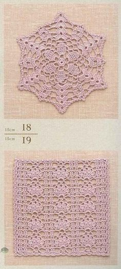 #ClippedOnIssuu from Crochet lacework 18, 19