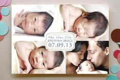 TINY MIRACLE #birth #baby #announcement