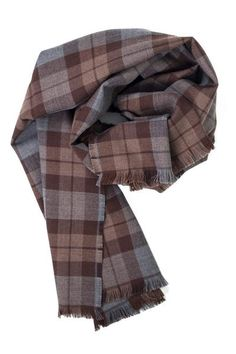 We are proud to offer all three of the official Outlander tartans designed specifically for the series.  This photo is the Outlander Lambswool scarf. The tartans are all woven in Scotland and made with the finest wool.