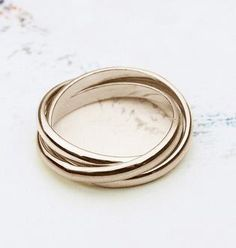 Promise Ring Rose Gold White Gold Yellow Gold 3 Color Rings, USD18.99 Before Discount, FREE Shipping, FREE Returns