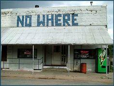 No Where Bar in Naponee, Nebraska. {memories}