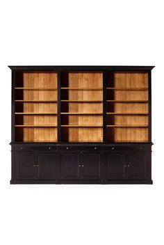 Bastien Is A Directoire Style Bookcase Shown In Cherry Wood With A  Honeycomb Finish And Interior In Turquoise. It Has One Drawer At The Top  Adornedu2026