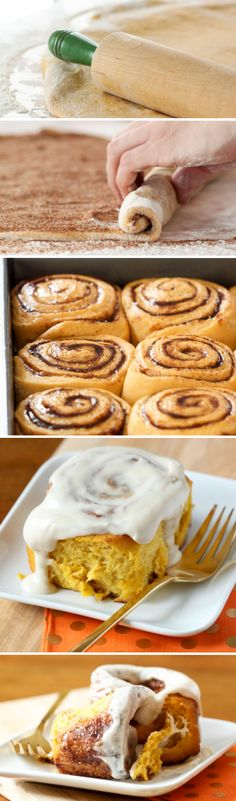 Pumpkin Cinnamon Rolls ....ommm nom nom nom ..oh yeah you know it! Naughty..but Nice :D