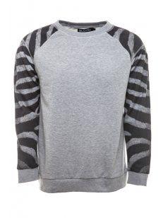 Blood Brother Safari Sweatshirt Grey - £75