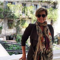 #Regram @chykak Bella Chyka looking fabulous in Italy wearing her beautiful @falierosarti scarf! #scarletjones #falierosarti #scarf. Thanks so much for all your support Chyka, we really appreciate it!