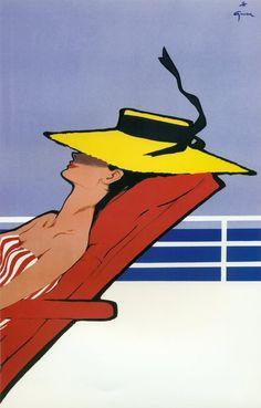 Vintage et cancrelats: René Gruau - Partie 2