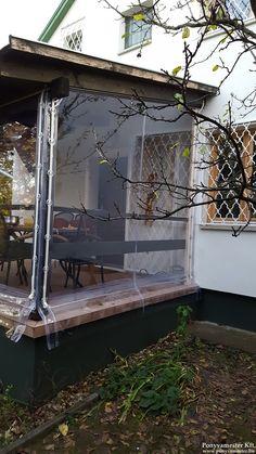 Porch Curtains, Outdoor Curtains, Outdoor Rooms, Porch Vinyl, Tiki Bar Decor, Caribbean Homes, Patio Enclosures, Gazebo Pergola, Screened In Porch