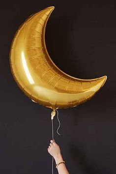 Gold Moon Balloon Set - Urban Outfitters