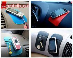 Anti slip for cell phone