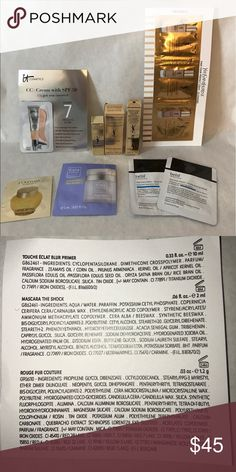 High end makeup bundle What you see is what you get! (Please feel free to comment)! 20+ deluxe size/sample sized high end skin care brands from Sephora. Yves Saint Laurent Makeup Face Primer