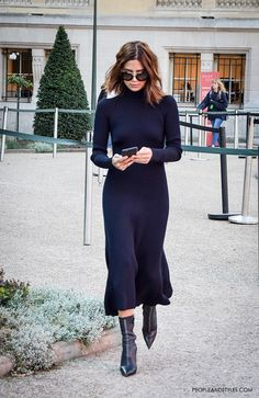 Chic Winter Outfit Ideas You Can Wear To Work - Sweater dress with ankle boots,. - - Chic Winter Outfit Ideas You Can Wear To Work – Sweater dress with ankle boots, perfect work outfit for winter Source by – Source by YasminWomenDress Chic Winter Outfits, Casual Outfits, Winter Work Fashion, Spring Outfits, Casual Shoes, Mode Outfits, Fashion Outfits, Womens Fashion, Fashion Fashion