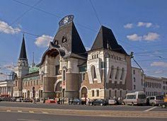Ярославский вокзал в Москве, 1903-1904 гг. Шехтель РУССКИЙ МОДЕР