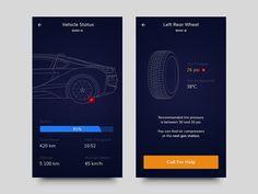 Car App Concept by Andreas Frank