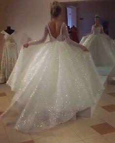 cool Watch Top Make-Up & Hair Tutorials : Wonderful Wedding Dress  By: @lume_design