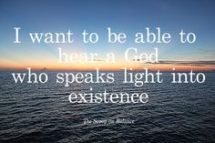 From the first verse, to the last, God's voice echoes throughout Scripture. And it still echoes today.