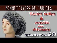 Bonnet Rasta, Tricot Simple, Crochet Christmas Hats, Knitted Hats, Crochet Hats, Bonnet Crochet, Couture, Knitting, Beanie