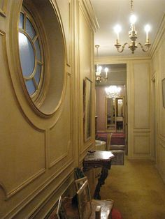 rounds windows & french mouldings..