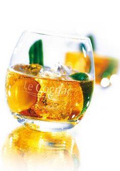 Cognac Summit, un cocktail à base de cognac qu'on adore. La cognac en cocktail, so trendy !